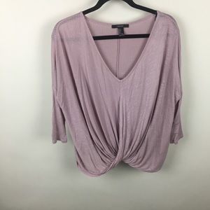 Forever 21 Draped Top size (S)